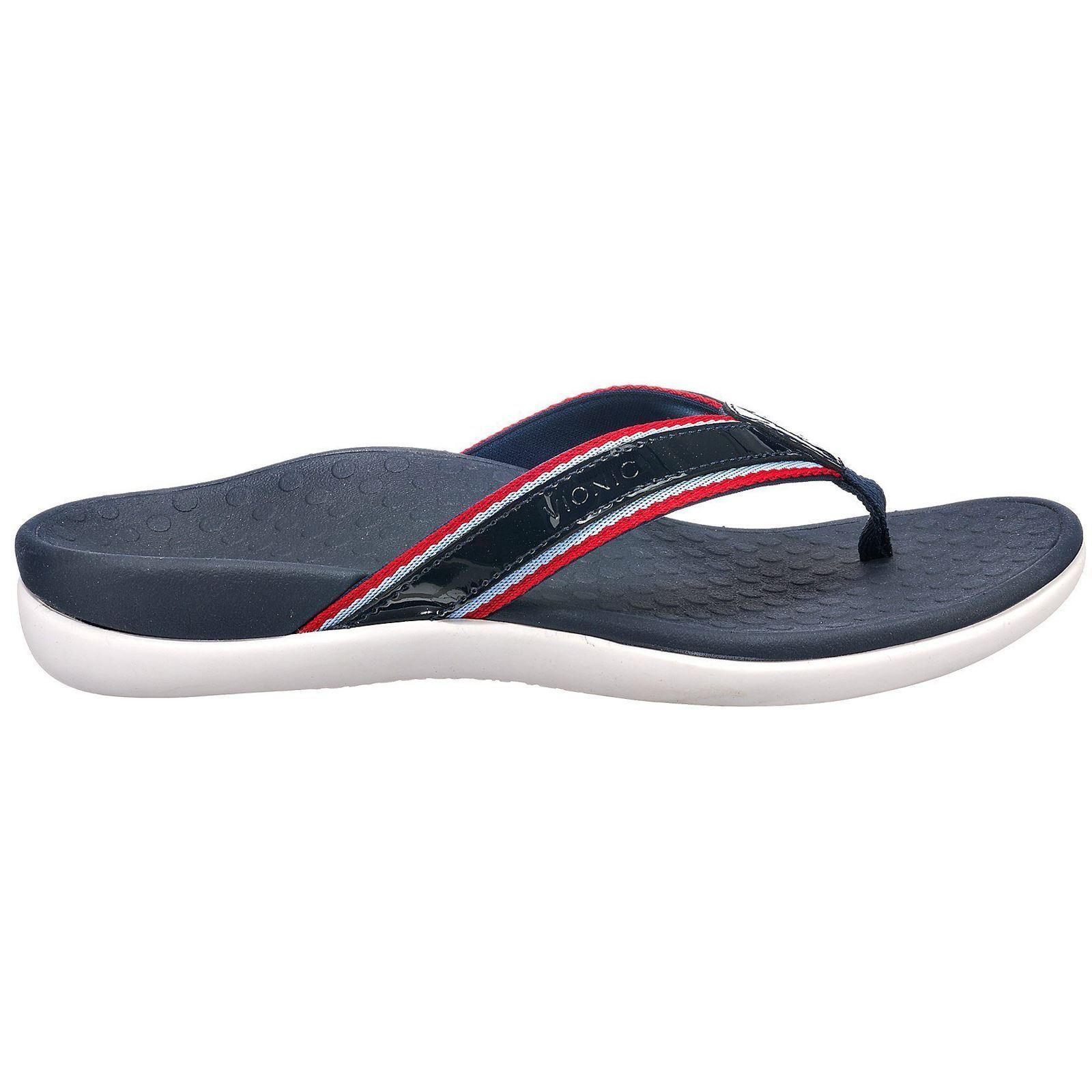 Vionic Rest Islander Comfort Sport Navy Womens Sandals Comfort Islander Slides 1a03e7