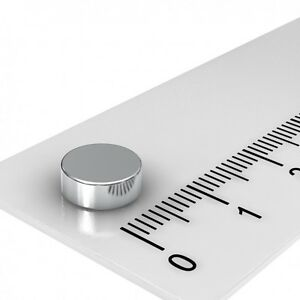 100-STUCK-NEODYM-SCHEIBE-MAGNET-8x3mm-VERNICKELT-N45-BESTPREIS-SUPERMAGNET-HOBBY