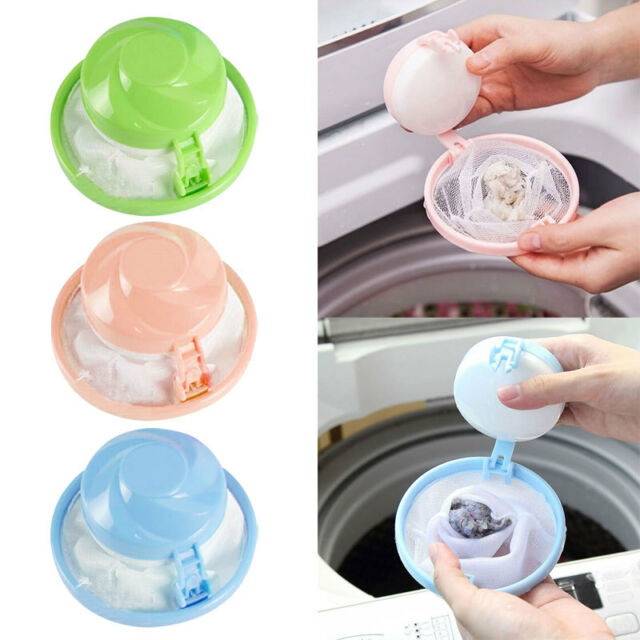 Random Hair Ball Removal Tool Washing Machine Portable Suction Remover Po-AU