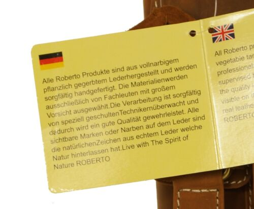 Ledertasche Universell Tasche Echtleder Herren Handgefertigt Umhängetasche Braun g5qw7fF
