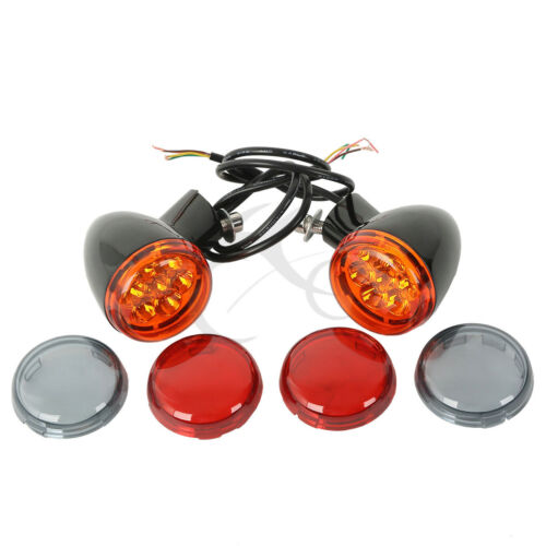 Rear Turn Signals Light Bracket For Harley Davidson XL883 XL1200 Sportster 92-17