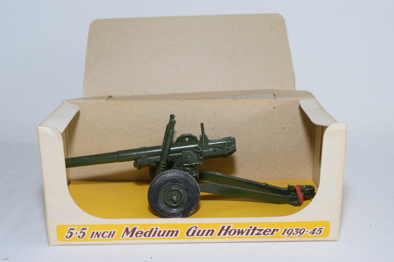 CRESCENT TOYS 1251 1251 1251 5.5 INCH MEDIUM GUN HOWITZER N MINT BOXED RARE SELTEN RARO 11f766