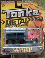 Tonka Metal Bodies Tanker Truck 2012 Red/grey Nip