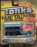 Tonka Metal Bodies Tanker Truck 2012 Red/grey Nip