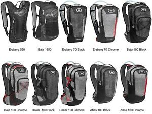 OGIO Hydration Pack Motorcycle / ATV / MTB / MX Backpack Water ...