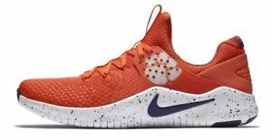 Nike-Clemson-Tigers-Orange-Purple-Free-TR-V8-Shoes-Men-039-s-Size-US-9-5-AR0427-800