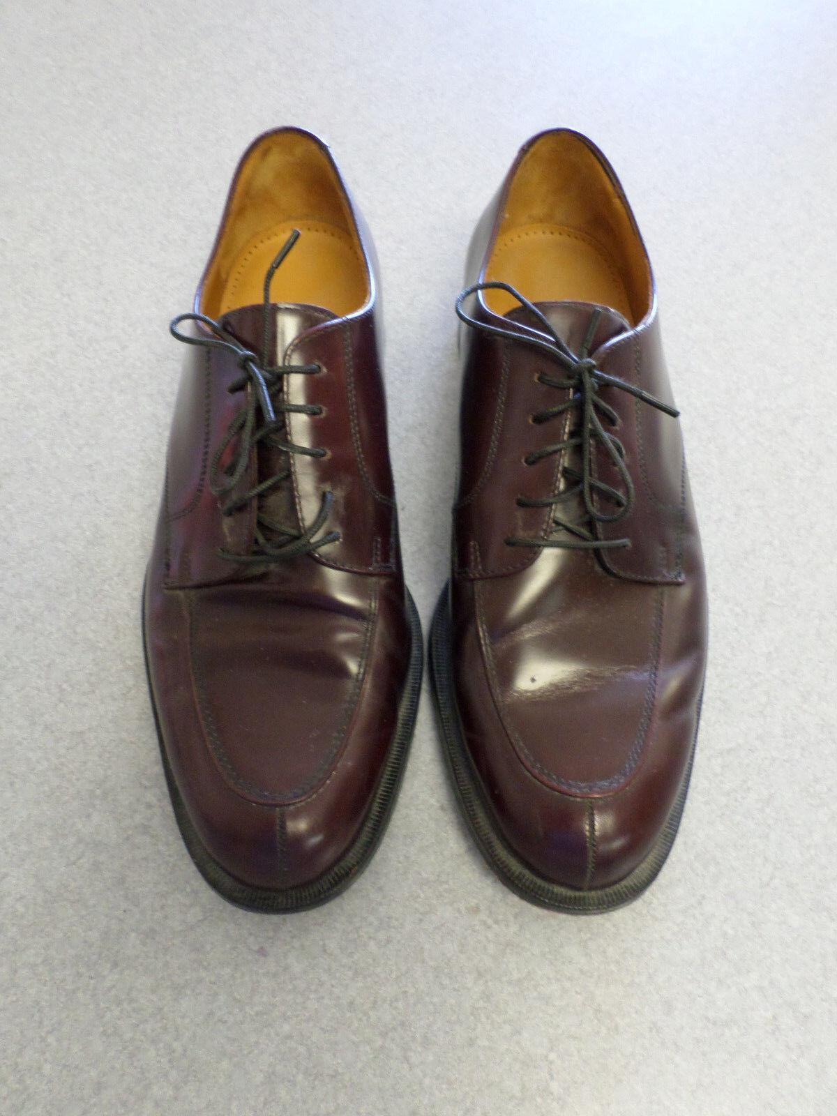 Cole Haan cordovan leather, split toe oxfords, Men's 10 M