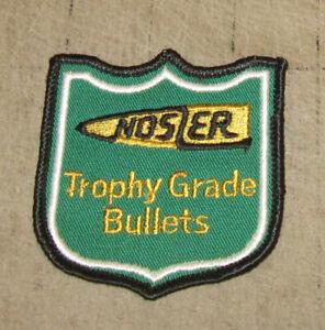 NOSLER-034-Trophy-Grade-Bullets-034-3-034-Green-Hat-Shirt-Gear-PATCH