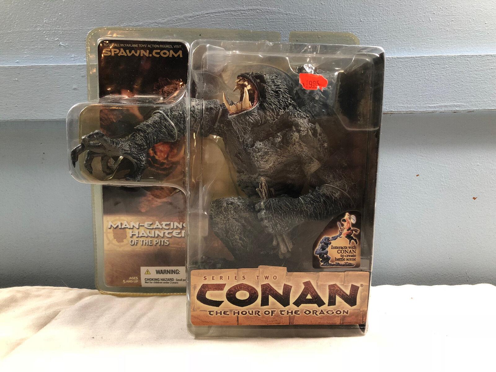 Conan Barbarian Series 2 Man Eating Haunter  Action Figure McFarlane  MOC