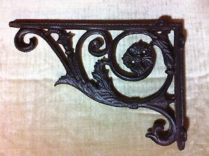 winkel wandhalterung eisen antik rustikal f r regalbretter regalwinkel wand 28cm ebay. Black Bedroom Furniture Sets. Home Design Ideas
