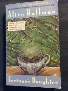 Alice-Hoffman-SIGNED-Fortune-039-s-Daughter-PB-1985-Very-Good