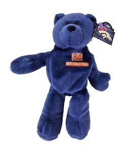 Denver Broncos Shannon Sharpe  84 Bean Bag Bear by Pro Bears 8