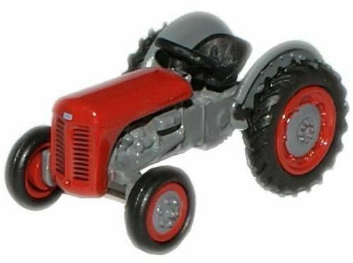 Ferguson TEA TE20 Tracteur Rouge Diecast Modèle Échelle 1:76 OO Gauge Oxford Farm NEUF