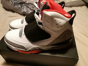 best service 0d057 2d77a Image is loading Nike-Air-Jordan-Son-of-Mars-Hot-Lava-