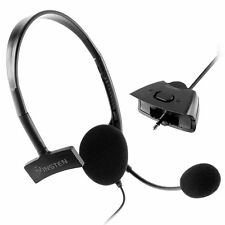 Black Slim Headset With Noise Canceling Microphone For Xbox 360 Live