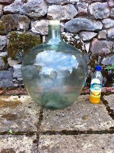 Large Carboy Demi John Glass Acid Bottle Wine Bottle Terrarium H