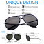 XL-034-Posche-034-OVERSIZED-Women-Sunglasses-Aviator-Shadz-GAFAS-TWIRL thumbnail 2