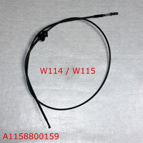 Mercedes Benz w114 w115 sedán Coupé motorhaubenzug//cable Bowden//cordón nuevo