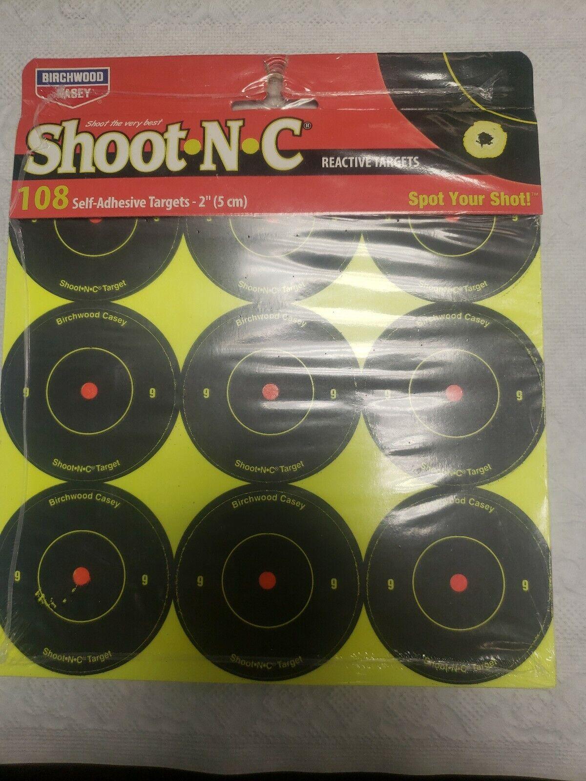 "Birchwood Casey AR5-SNC 2/"" Rnd Target Per108 34210"