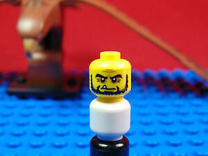LEGO-MINIFIGUR<wbr/>ES SERIES [15] X 1 HEAD FOR THE FRIGHTENING KNIGHT SERIES 15 PARTS