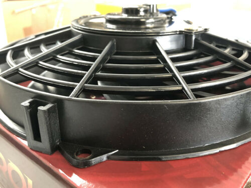 "Triumph Mini Morris.. Ford 9/"" Aeroline Radiador Ventilador de refrigeración 12v ® Electric MG"
