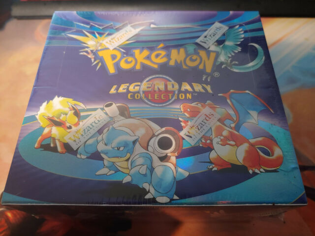 Pokemon Legendary Collection Booster Box Factory Wizards ...