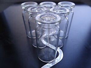 10ml vials - clear