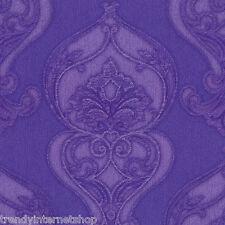 Malla papel pintado Dieter tableros colocados studio line 02426-50 7 lila violeta ornamentos brillo