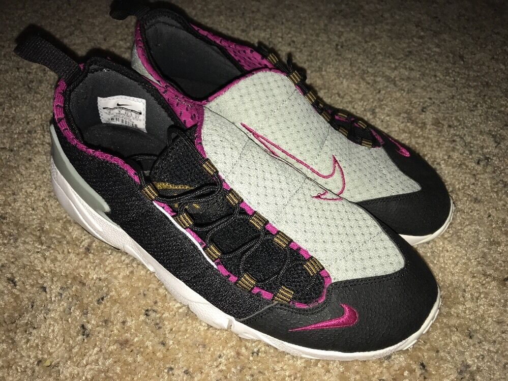 2014 Nike Air Footscape Motion sz 8 Black Magenta Pink Sea Spray 599470-002