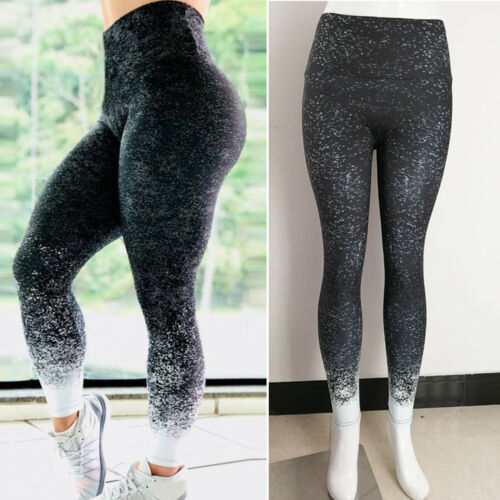 Women Yoga Sports High Waist Pants Push Up Leggings Fitness Gym Running Trousers