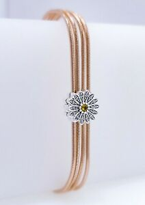 NEW Authentic PANDORA Reflexions Rose gold Multi Snake Chain ...