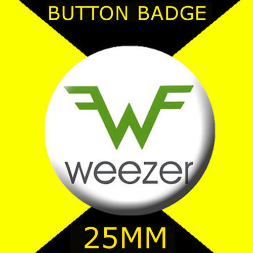 BUTTON BADGE 25MM//1 D PIN WEEZER GREAT GIFT FOR FAN #2