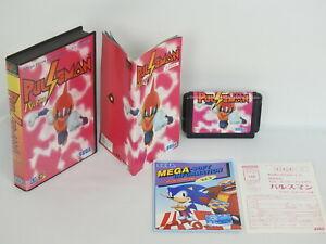 Mega-Drive-PULSEMAN-Puls-Man-GOOD-Condition-Ref-1523-Sega-Free-Shipping-Japan-md
