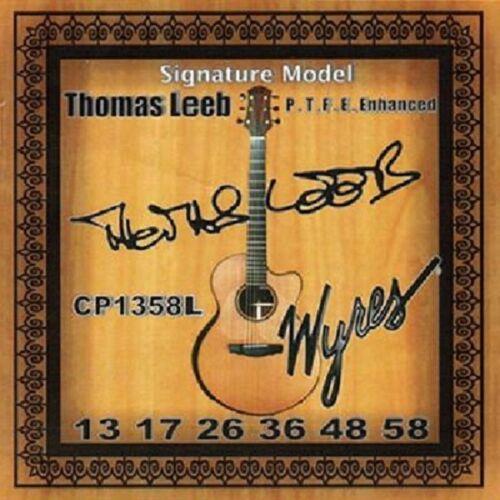 THOMAS LEEB SIGNATURE PTFE COATED PHOSPHOR ACOUSTIC GUITAR STRINGS