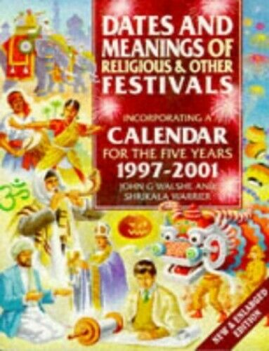 Dates and Meanings of Religious and Other Fest... by Warrier, Shrikala Paperback