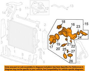 JAGUAR OEM 04-09 XJ8-Engine Coolant Thermostat Housing AJ811793 | eBay | 2005 Jaguar Xj8 Engine Diagram |  | eBay