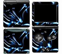 Dark Blue 020 Vinyl Decal Skin Cover Sticker for Game Boy Advance GBA SP