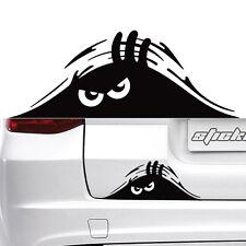 Black Peeking Monster Funny Cute Sticker Vinyl Waterproof Decal For Car WindowX2