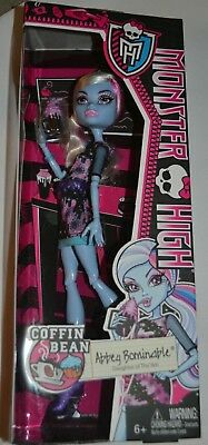 Coffin Bean Monster High Abbey Bominable *new Long Performance Life
