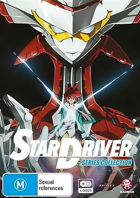 Star Driver - Series Collection (DVD, 2013, 4-Disc Set) LIKE NEW