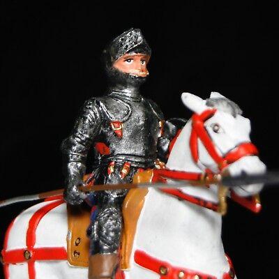 MARLBOROUGH RED JACKET CALVARYMAN UK 1704 Mounted 54mm Toy Soldier HAND PAINTED