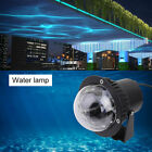 Remote RGB LED Water Wave Ripple Effect Stage Light Lighting Laser Projector DQ