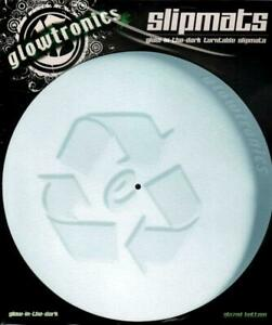 Glowtronics-DJ-Slipmats-Pill-new-and-sealed-Glow-in-the-Dark-x2