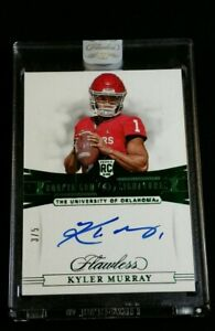 /5 KYLER MURRAY SSP RC *ON-CARD AUTO *PANINI SEALED ROOKIE EMERALD 2019 Flawless