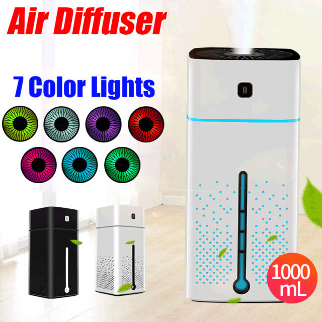 1000ML Electric Air Diffuser Aroma Oil Humidifier Night