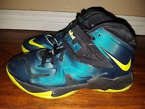 acc436ac5126 NIKE LEBRON 7 VII SOLDIER ALL STAR GAME SEA GREEN BLACK VOLT 6.5 Y ...