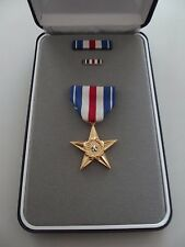 *A19-012) US Orden Silver Star Medal Original im Etui