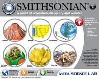 NSI SMITHSONIAN MEGA SCIENCE LAB 6 ACTIVITIES KIT VOLCANO DINO DIG 49009 Toys