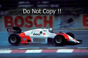 andrea de cesaris alfa romeo 183t german grand prix 1983