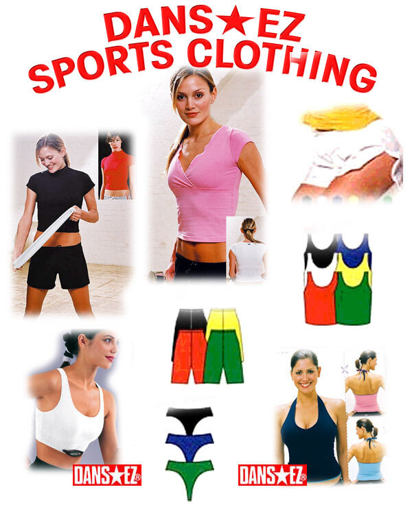 DANSEZ FITNESS CLOTHING - 10 ITEMS SIZE SMALL - BARGAIN DANS-EZ ITEMS